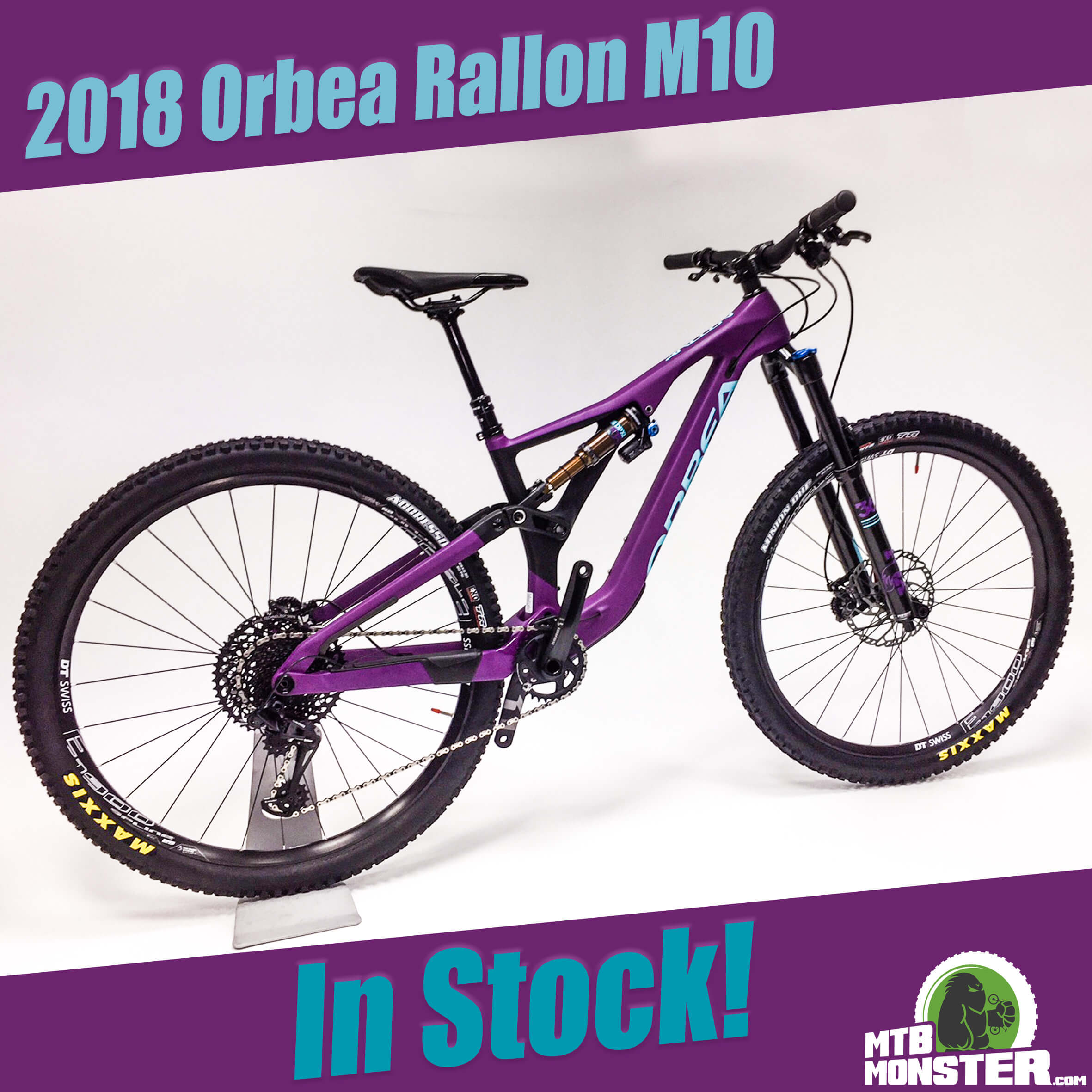 2018 Orbea Bikes Rallon M10 - In Stock Now! - MTB Monster c7e4b0875