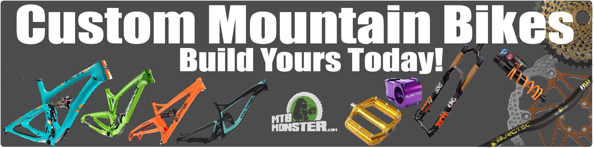 custom mountain bikes