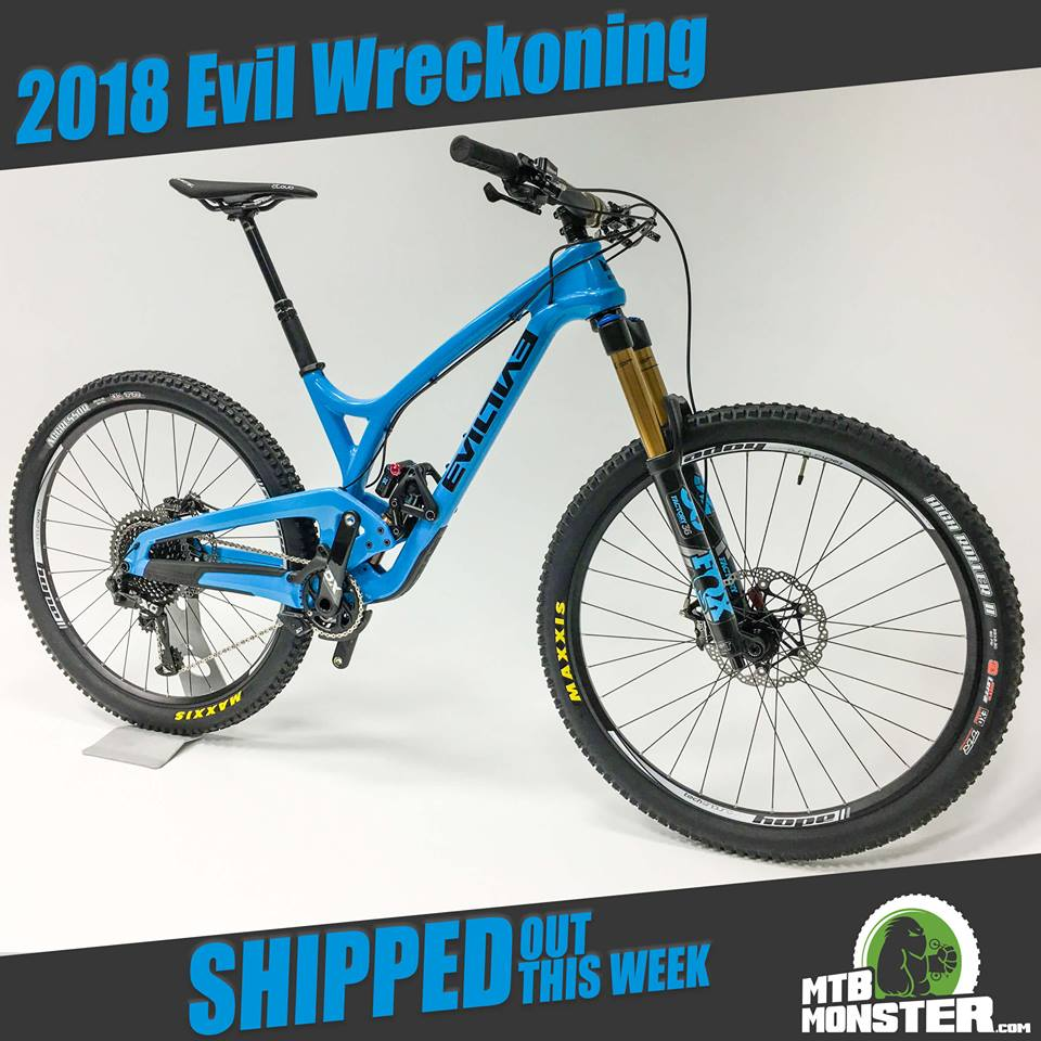 Evil Bikes The Wreckoning Carbon X01 Eagle Custom Build