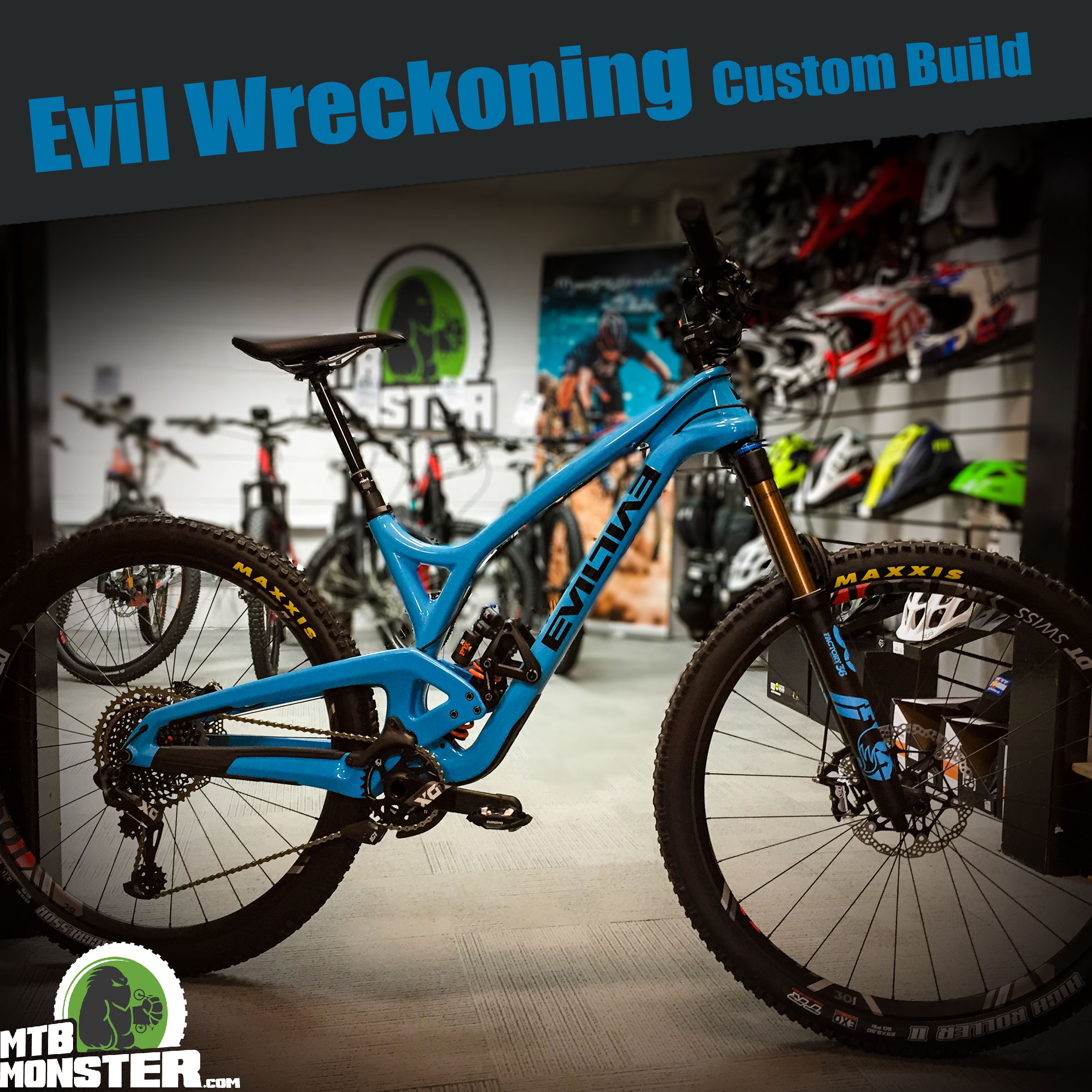 Evil Bikes The Wreckoning Custom Build