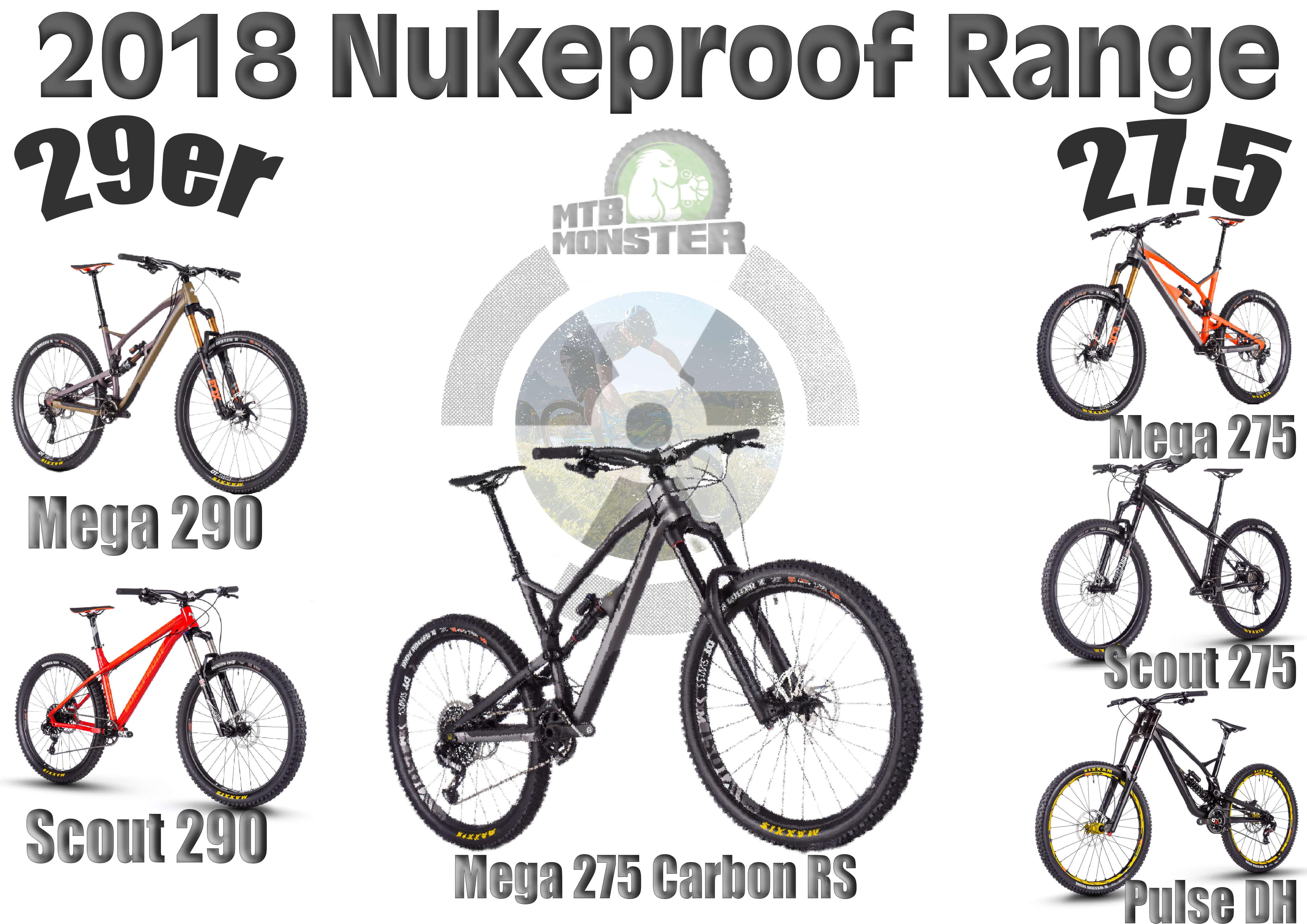 Nukeproof Mountain Bikes 2018