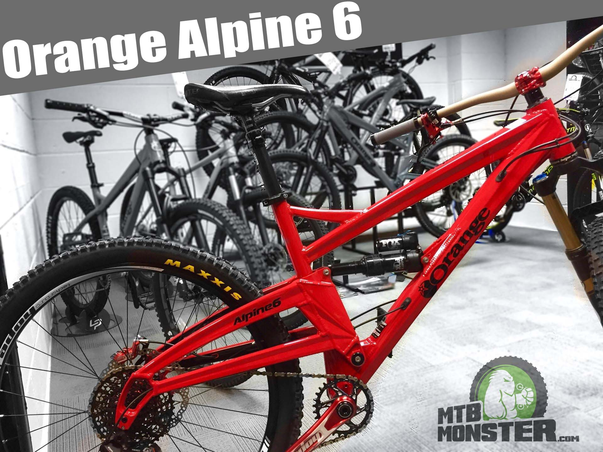 Orange Alpine 6 Custom Build