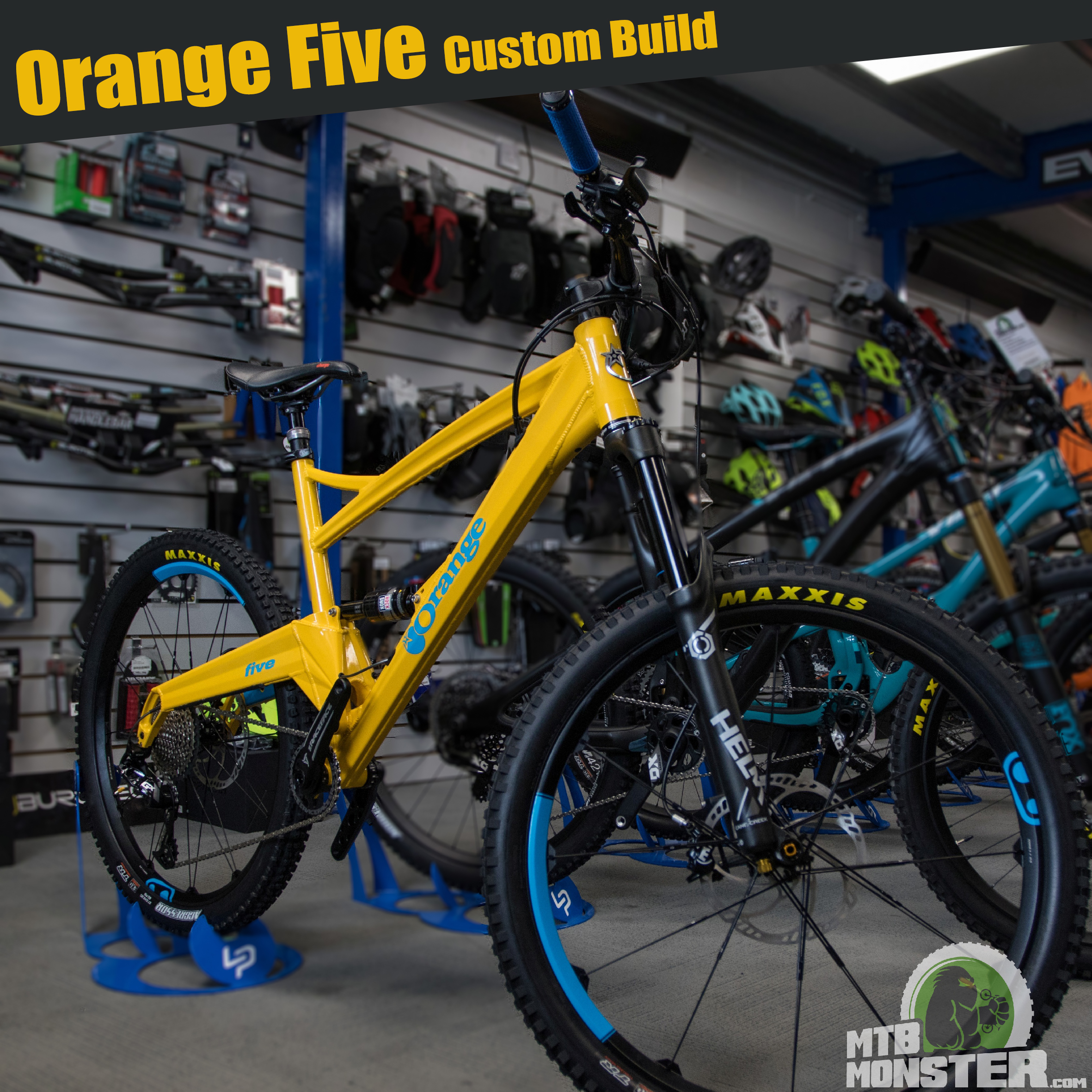 Orange Bikes Five Custom Build