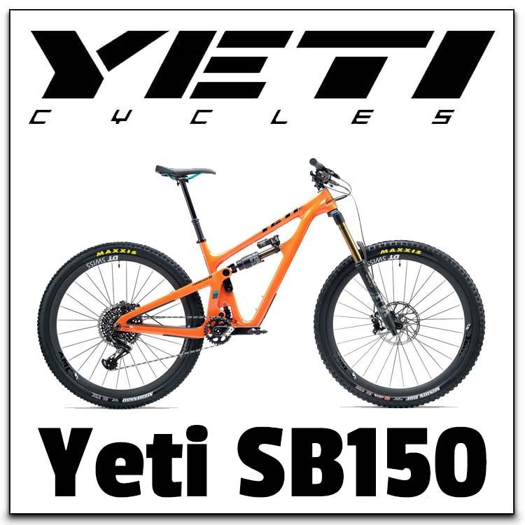 Yeti SB150 Range