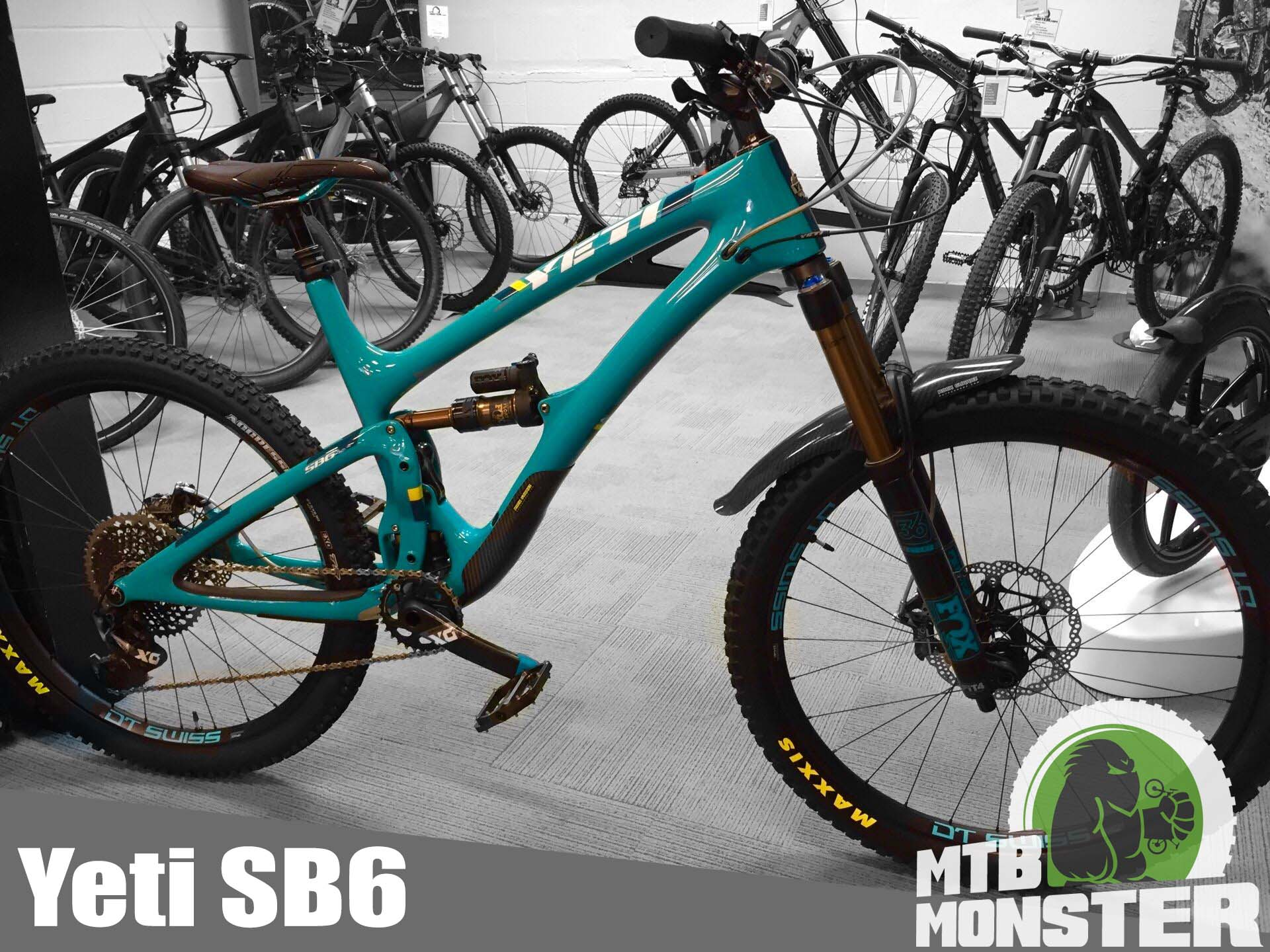 Yeti SB6 X01 Eagle Custom Build