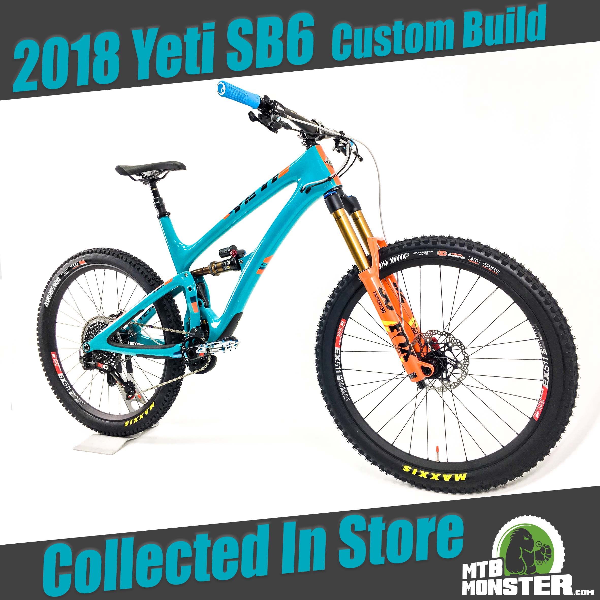 Yeti SB6 T-Series 2018 Custom Build